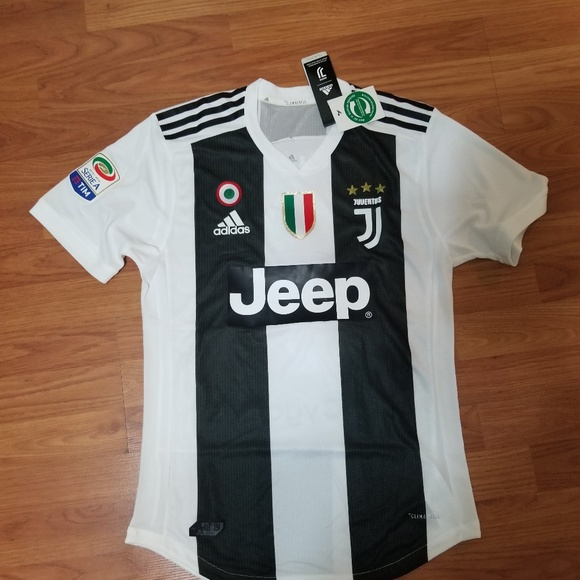 d7aaabeb1 CRISTIANO RONALDO JUVENTUS CLIMACHILL JERSEY. NWT. adidas
